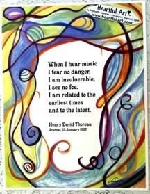8x11 Thoreau poster