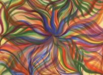 Jungle Flower giclee print by Raphaella Vaisseau