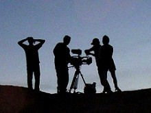 Film Crew Silhouette