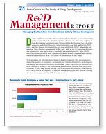 Cover for April 2012 R&D Management report