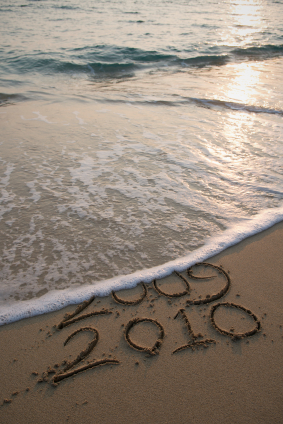 2010 on the beach