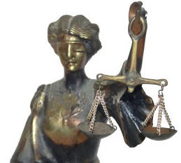 bronze lady justice