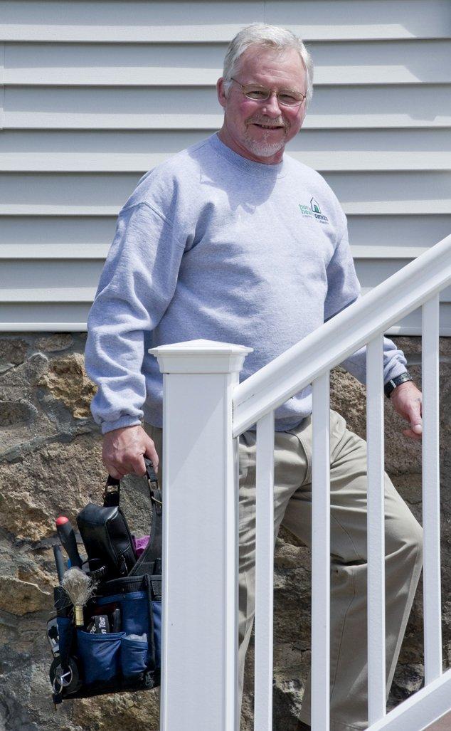 Bill Climbing Stairs