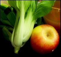 Bok Choy Apple Slaw