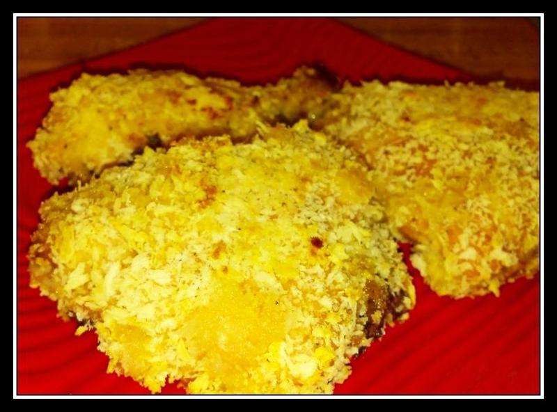 Panko Oven Fried Chicken