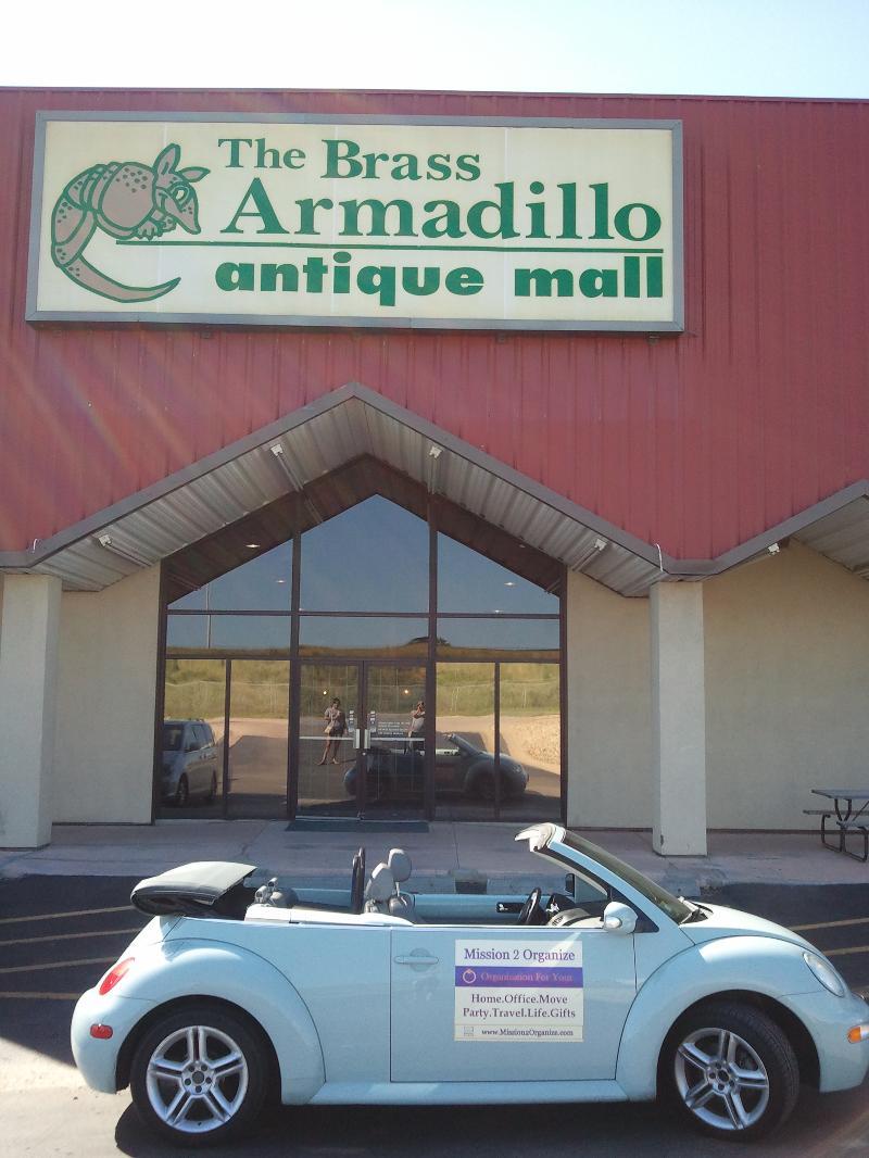 Brass Armadillo
