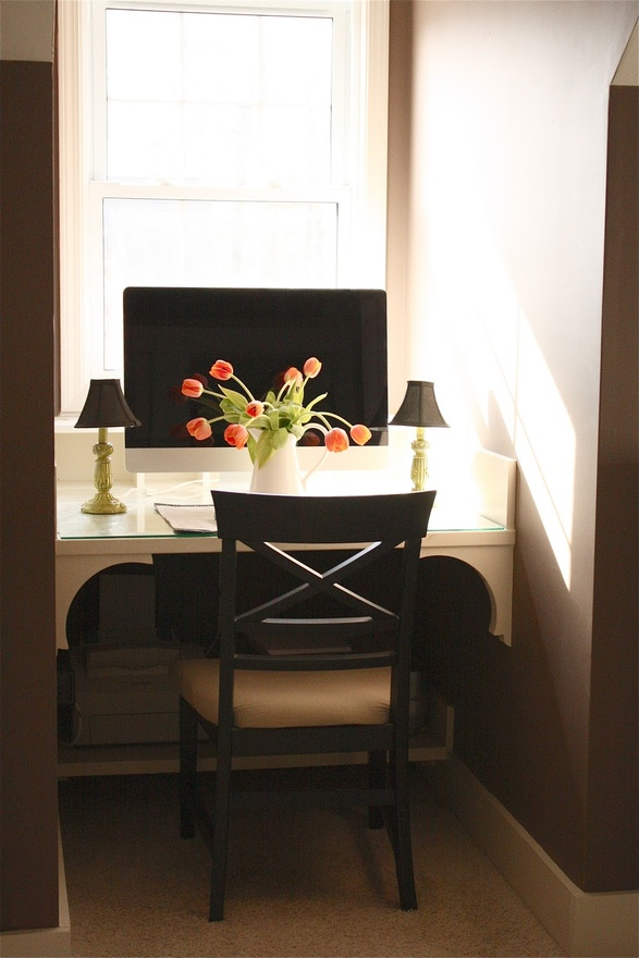 DIY Office Nook