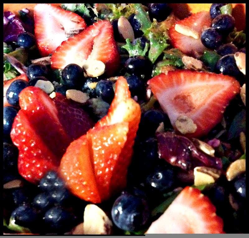 Berry Nutty Summer Salad