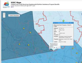 KWIC map