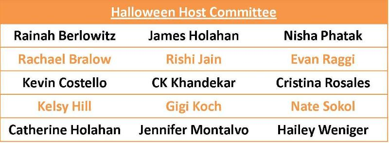 Halloween Host Committee