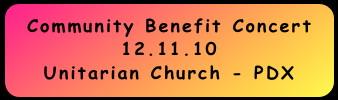 Community Benefit Concert