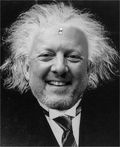 Albert as Albert Einstein