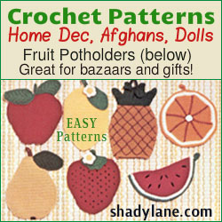 Shady Lane Crochet Patterns
