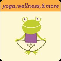 Yoga, wellness and more frog