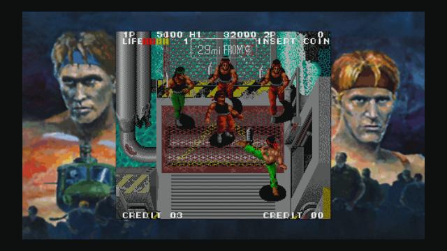 IKARI III in-game