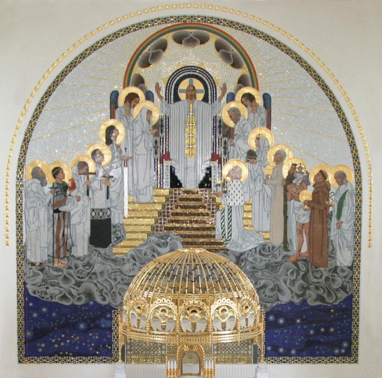 Otto Wagner Kirche Altar