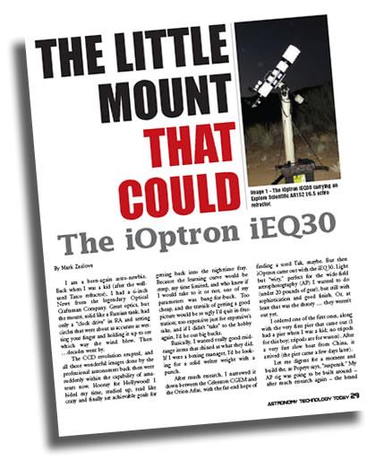 ATT iEQ30 article