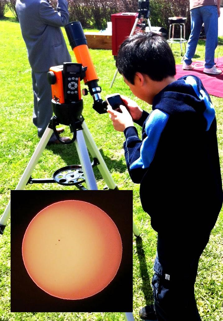 NEAF Solar 60 w/ student
