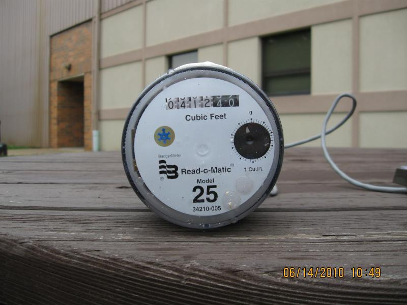 indoor water meter