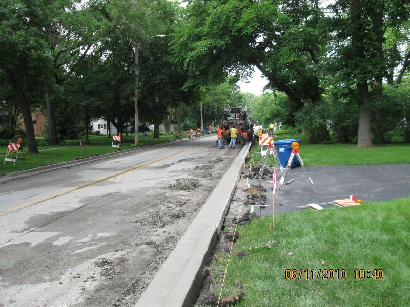 Kaneville Road resurface