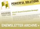 enewsletter archive button