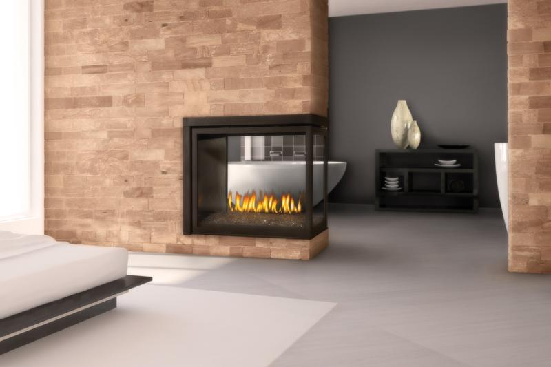 Fireplace between two rooms images - Fireplace between two rooms ...