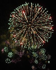 QSUM Quips New Year - fireworks