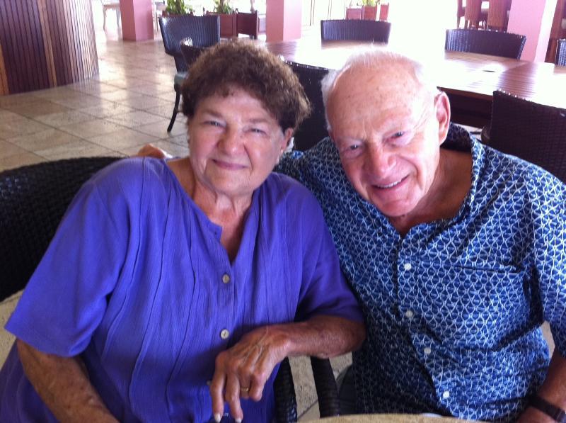 Buccaneer guests Al & Marilyn Fenner