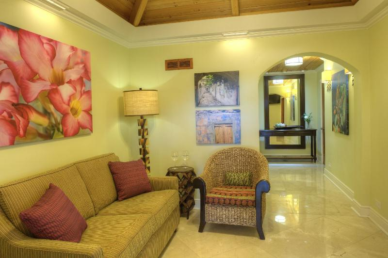Ficus Suite hallway and foyer
