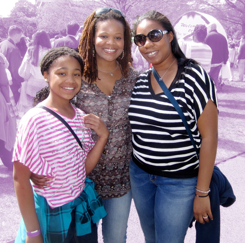 Ebony mother daughter lesbians