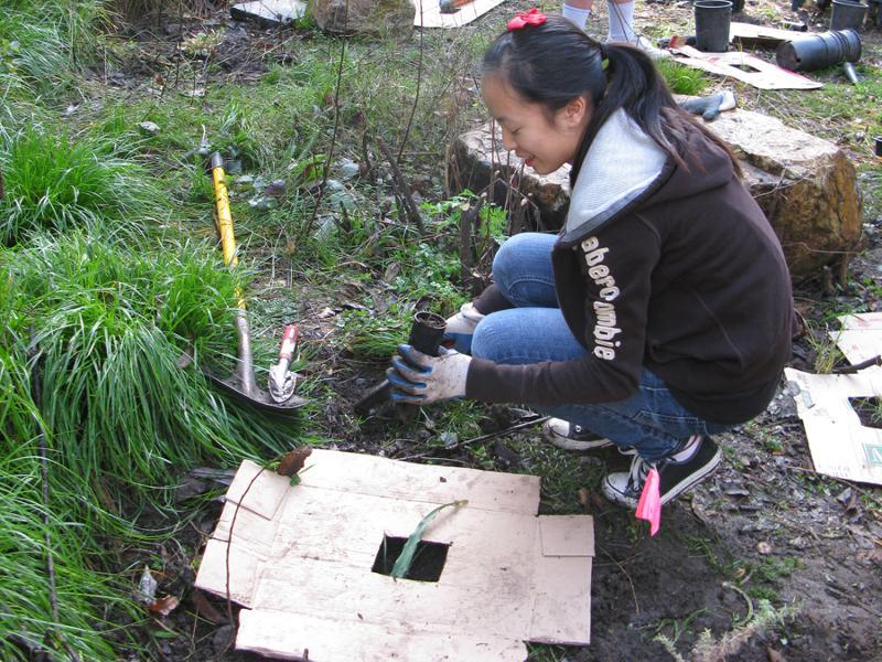 Oakland HS Planting_Hess