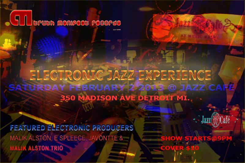 Electronic Jazz Flyer 2.2.13