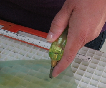 Learn to Cut Glass