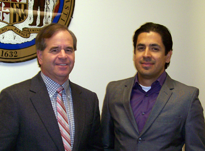 Jeff Thaler and Juan Munoz