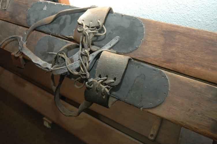 snowshoes - museum