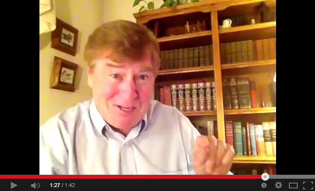 Click to watch a special message from Brian Johnston!
