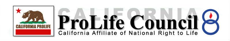 California ProLife Council Alert Logo