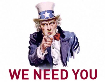 'We Need You' Poster