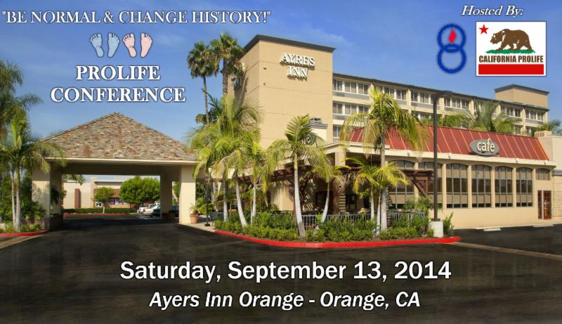 Save the Date for the ProLife Conference