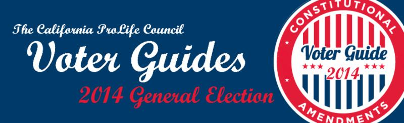 Click here to access our General Election Voter Guides