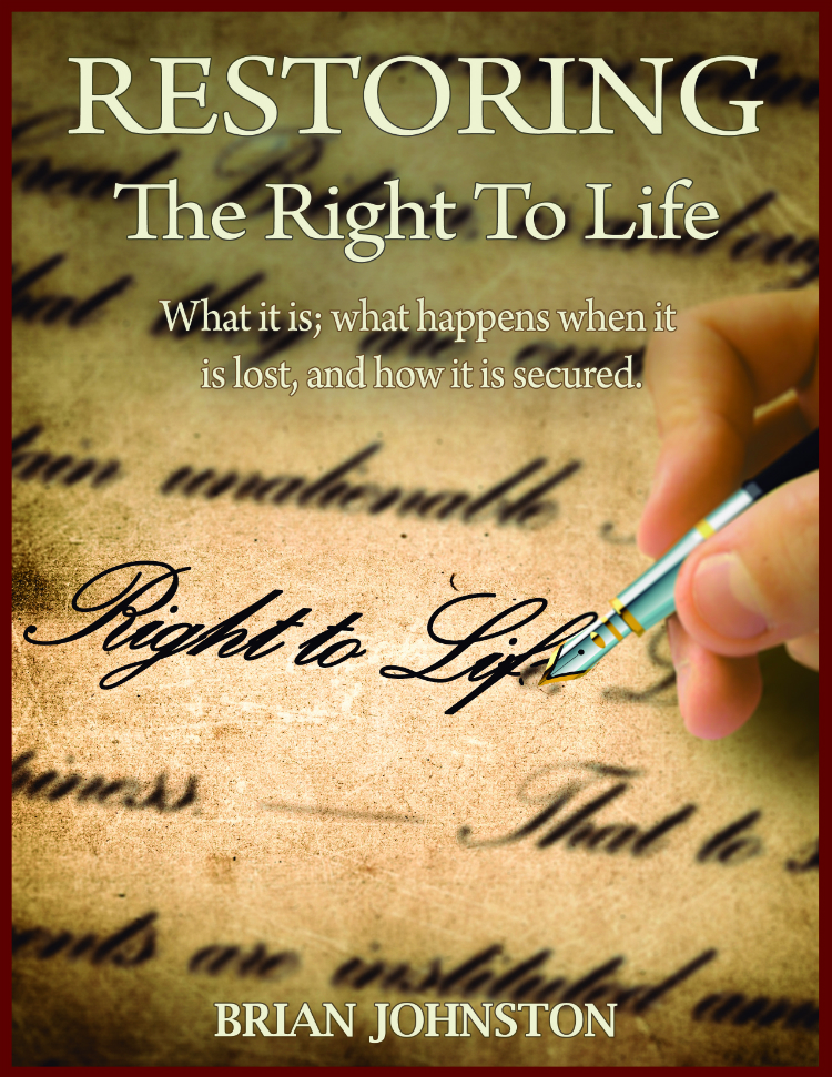 Restoring the Right to Life Book Cover