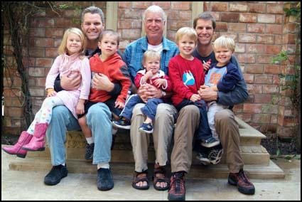 Roe Family at the Ayres Nov 6