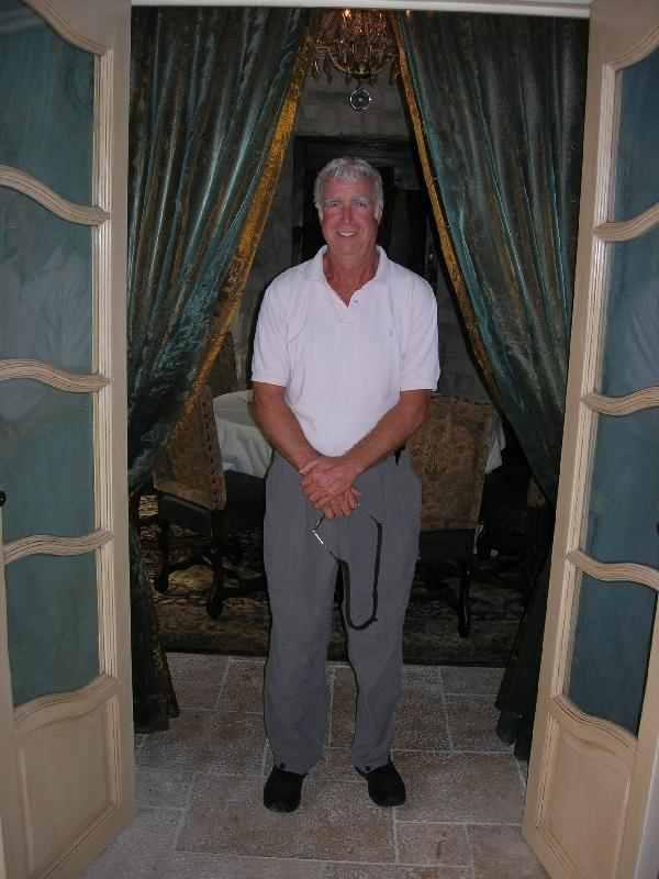Richard at the Ayres