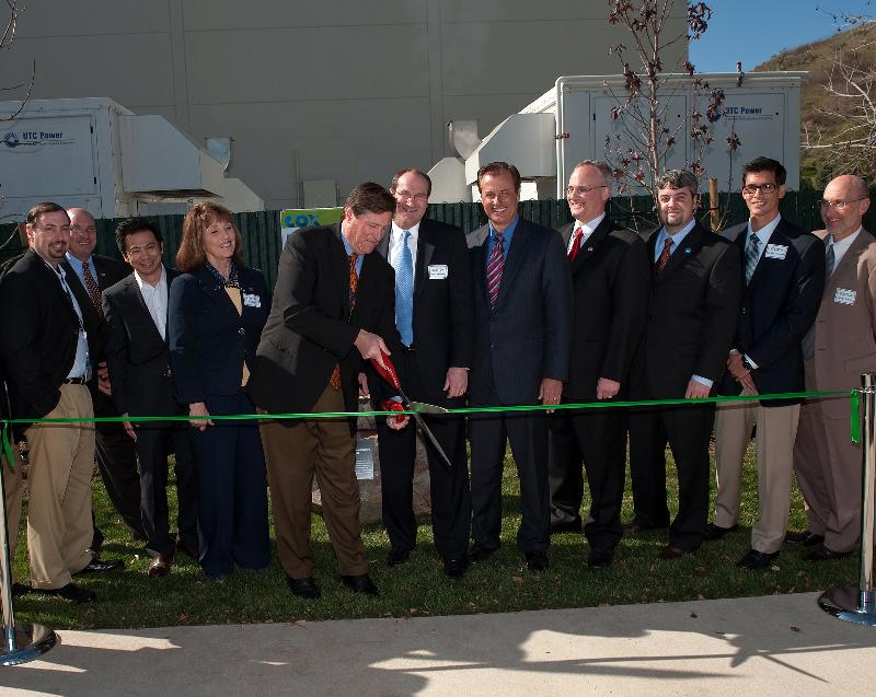 cox ribbon cutting