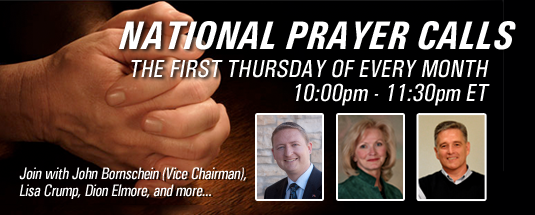 BANNER - NATIONAL PRAYER CALL (MONTHLY)