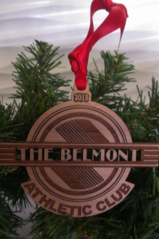 Belmont Christmas Ornament