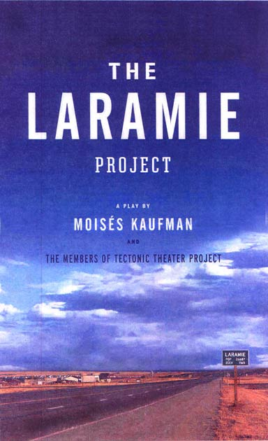 The Laramie Project in The Loft at UC PAC.