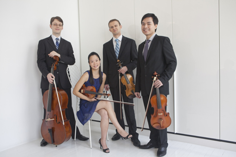 Amphion Sting Quartet performs at Hamilton Stage on Sun 9/30