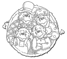 Berenstain Bears Treehouse Coloring Pages Berenstain Bears Treehouse
