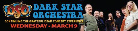 Dark Star Orchestra on March 9 at the UC PAC.